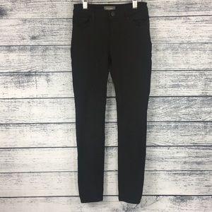 DL 1961 Chloe Skinny Sharp Black Jeans Size 12